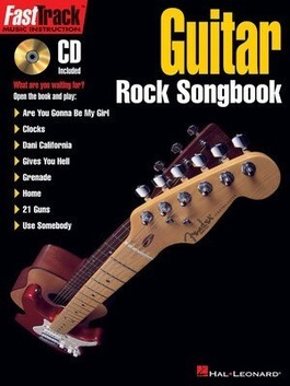Fasttrack Rock Songbook Book/CD