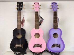 Makala Dolphin Coloured Ukulele