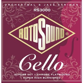 Rotosound Flatwound Cello Strings 22-63