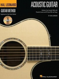 Hal Leonard Acoustic Guitar Method Book and CD