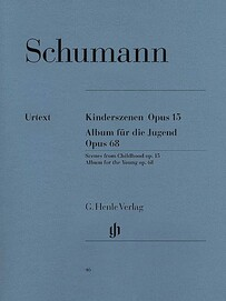 Scenes from Childhood op. 15 and Album for the Young op. 68 - R. Schumann - CLEARANCE - was $34.95
