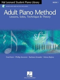 Hal Leonard Student Piano Library Adult Lesson Book and OLA