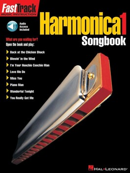 Fasttrack Harmonica Songbook 1 Bk/Audio Access - CLEARANCE - was $29.95