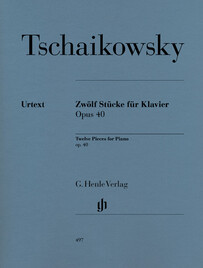 Twelve Piano Pieces op. 40 - P.I. Tchaikowsky