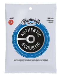 Martin SP Authentic Phosphor Bronze Acoustic Guitar String Set