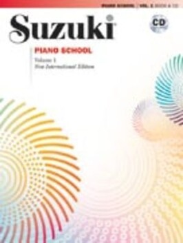 Suzuki Piano Book and CD