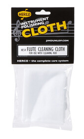 Herco Flute Cleaning Cloth - Cotton/Internal