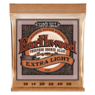 Ernie Ball Earthwood Phosphor Bronze Acoustic Guitar String Set - Range of Gauges