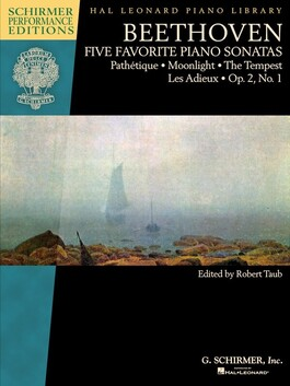 Beethoven - Five Favorite Piano Sonatas