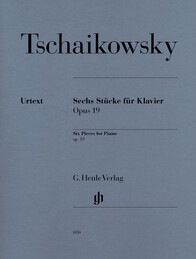 Six Piano Pieces op. 19 - P.I. Tchaikowsky