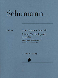 Scenes from Childhood op. 15 and Album for the Young op. 68 - R. Schumann