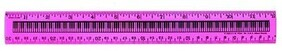 Ruler 30cm Keyboard - Assorted Colours