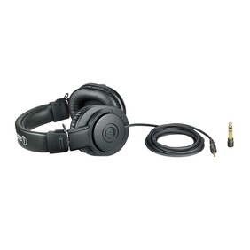 Audio Technica ATH-M20X Studio Closed Back Headphones.