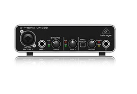 Behringer USB Interface 2in 2out