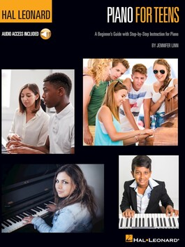 Hal Leonard Piano for Teens Book and Online Access Audio