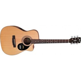Cort Acoustic/Electric Cutaway Folk Size Acoustic Guitar.