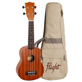 Flight Natural Series Ukulele w/Bag