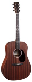 Martin D10E-01 Dreadnought Size Road Series Guitar w/Sapele Top, Back and Sides